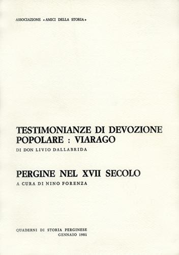Testimonianze di devozione popolare: Viarago